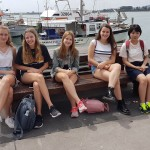 5 girls at the harbour-min