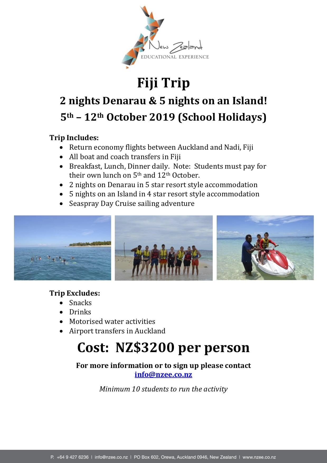 NZEE Fiji Trip October 2019-min