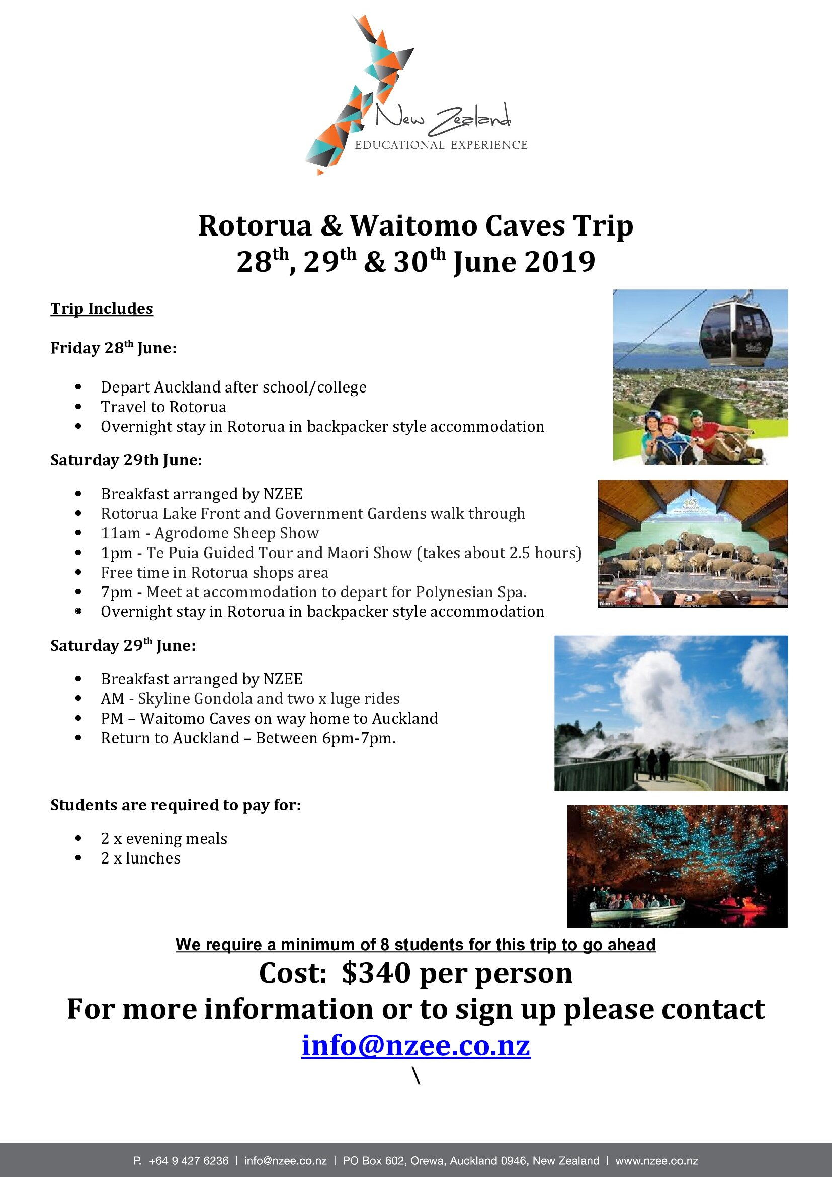 NZEE Trip Rotorua_Waitomo Caves copy